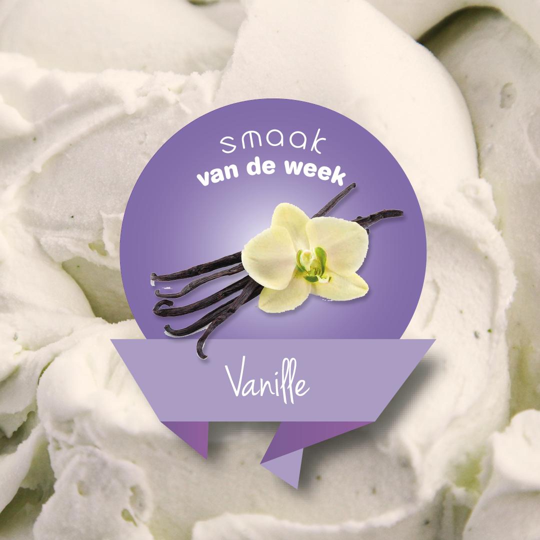 smaak van de week vanille